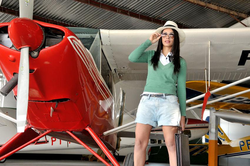 Ensaio Skarleth,Aero Club Paraná,15 anos
