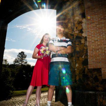 Ensaio Patricia e Teo