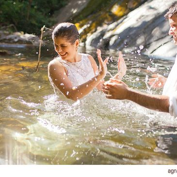 Trash The Dress Pollyana e Thiago